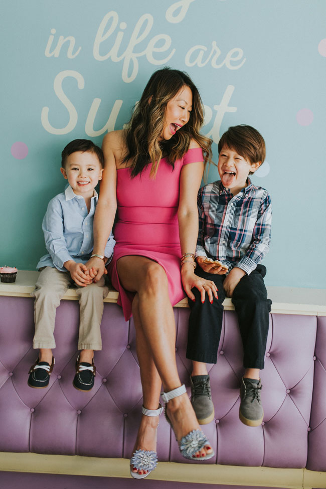 DSW Shoes, Best Place for Shoes, Family Shoes DSW, Mom and Son Photo shoot