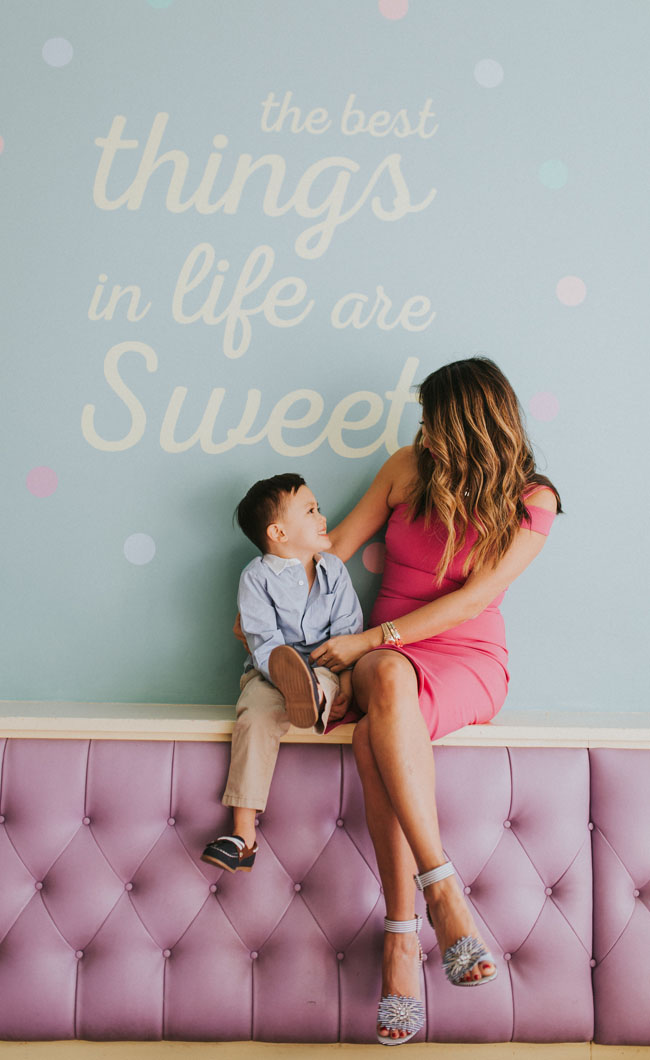 Sweet Mandy b's family photo shoot, DSW photo shoot, DSW shoes, Mom and son, Jennifer Worman