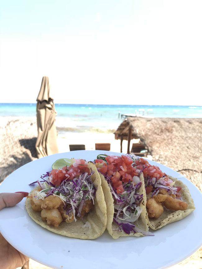 Tacos at Viceroy Riviera Maya, Viceroy Tacos