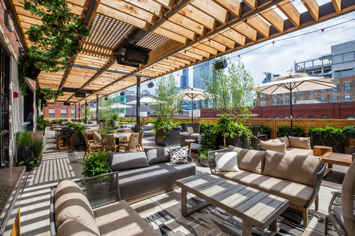 Aba restaurant Chicago, best rooftop chicago, best new restaurant 2018, chicago best patio