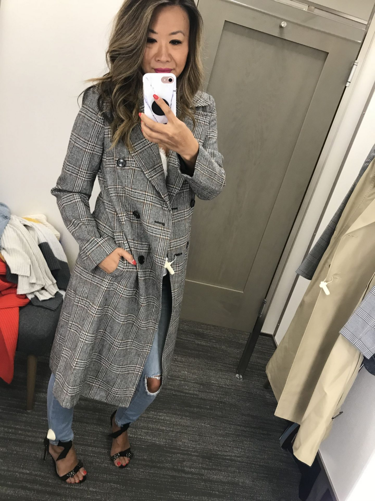 Plaid Trench Nordstrom, Nordstrom Anniversary Sale picks, Style Steals from Nordstrom, Jennifer Worman Nordstrom favorites