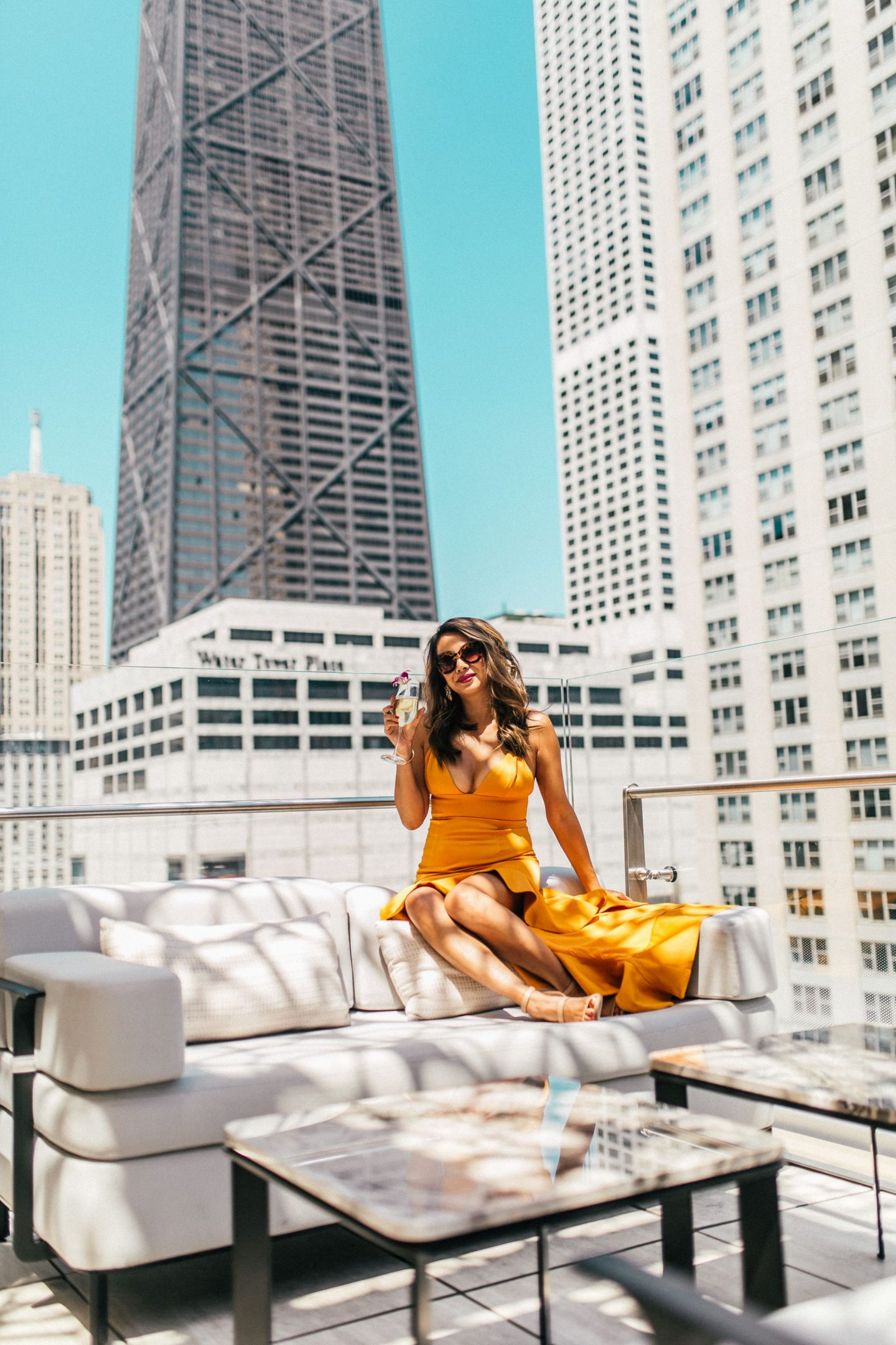 Z Bar Peninsula, Best Chicago Rooftop Bars, Best Bars in Chicago, Jennifer Worman