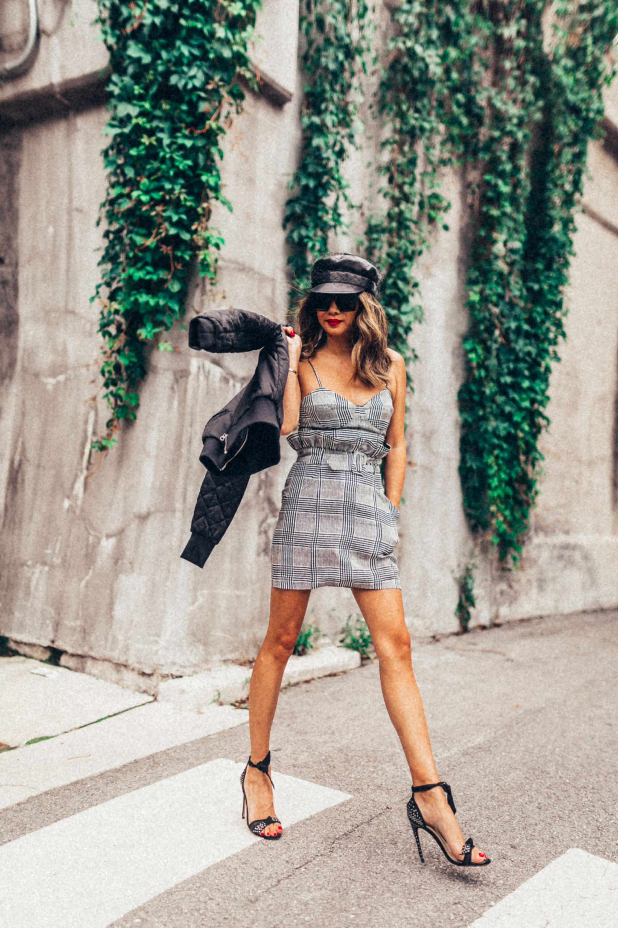 Jennifer Worman, Chicago Style Blogger, Chicago Lifestyle Blogger, Women Supporting Women, Lepa Boutique, Fleur du Mal skirt, Fleur du mal check, Dior Leather Hat with Veil, Veil Leather Hat, 10 ways women should do to support each other