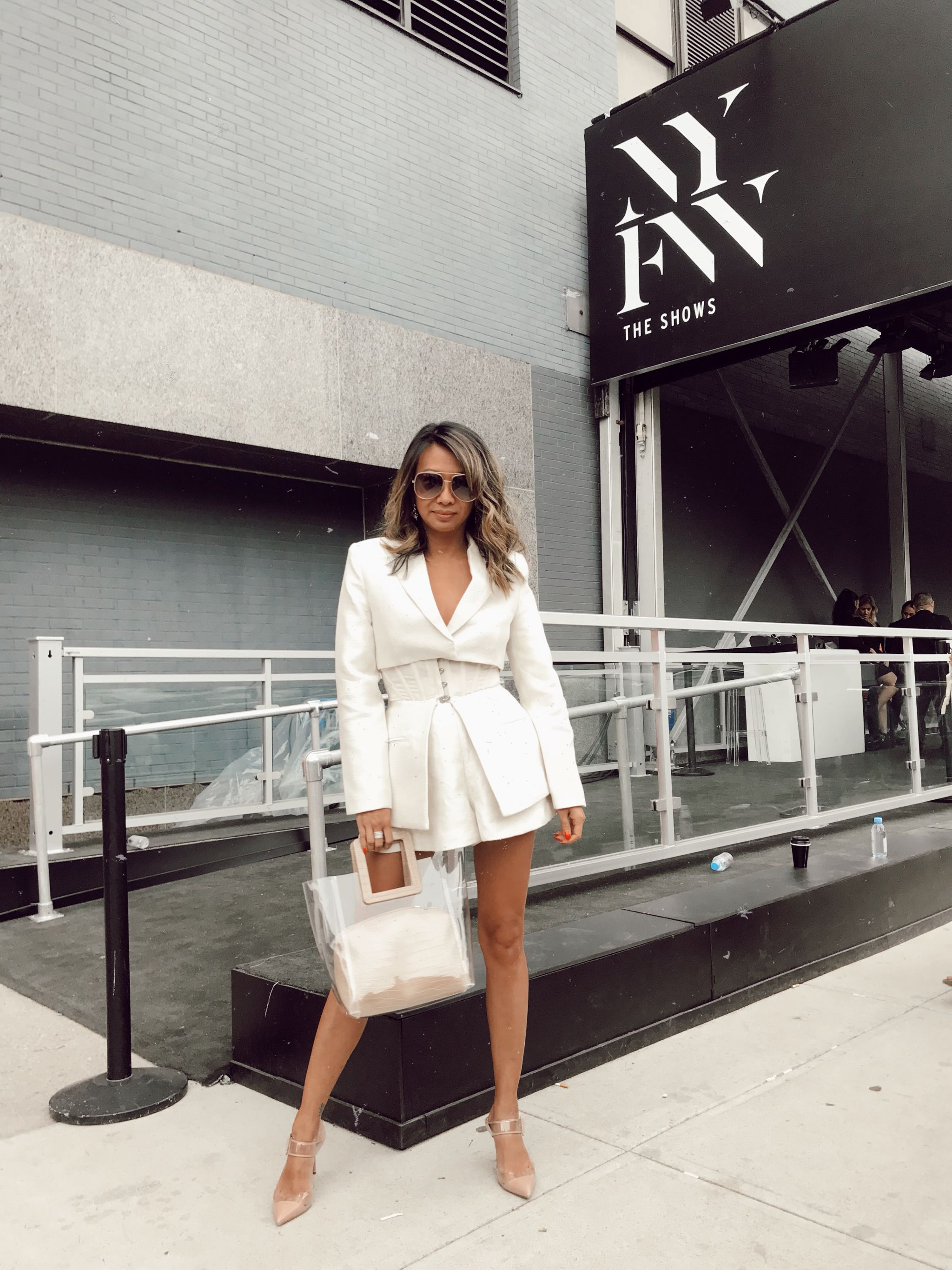 Streetstyle NYFW, NYFW 2018, Best Streetstyle NYFW, Acler Suit, Spring Studios NYC, Chicago Fashion Blogger, Jennifer Worman, New York Fashion Week 2018