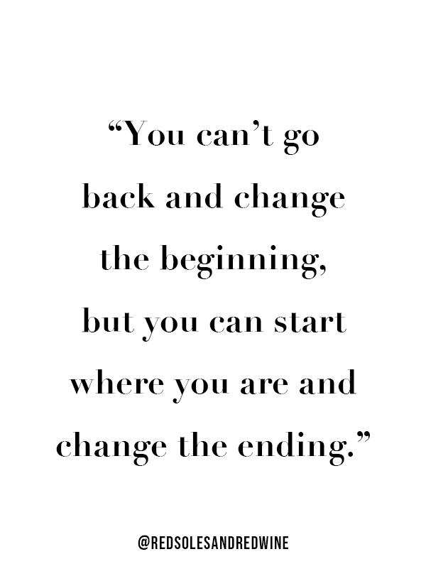 change the ending quote, make a change quote, inspirational quote, motivational quote