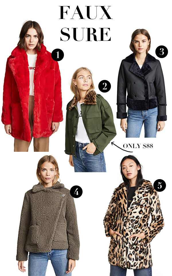 shop bop sale, best faux fur coats, shopping picks, fall clothing, coats, coat sale, faux fur coat picks, on trend faux fur, must have faux fur, leopard faux fur