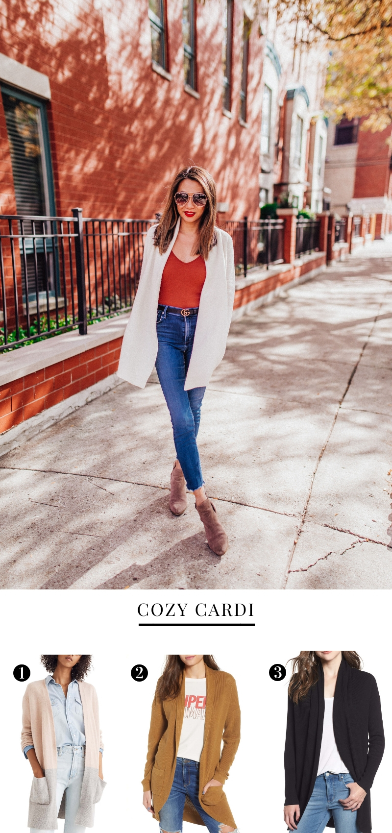 best cardigans for fall, fall outfit ideas, how to style a cardigan, best sweaters under $150, mom style, outfits for moms, Jennifer Worman, Red Soles and Red Wine, Fashion bloggers, style blogger, chicago bloggers