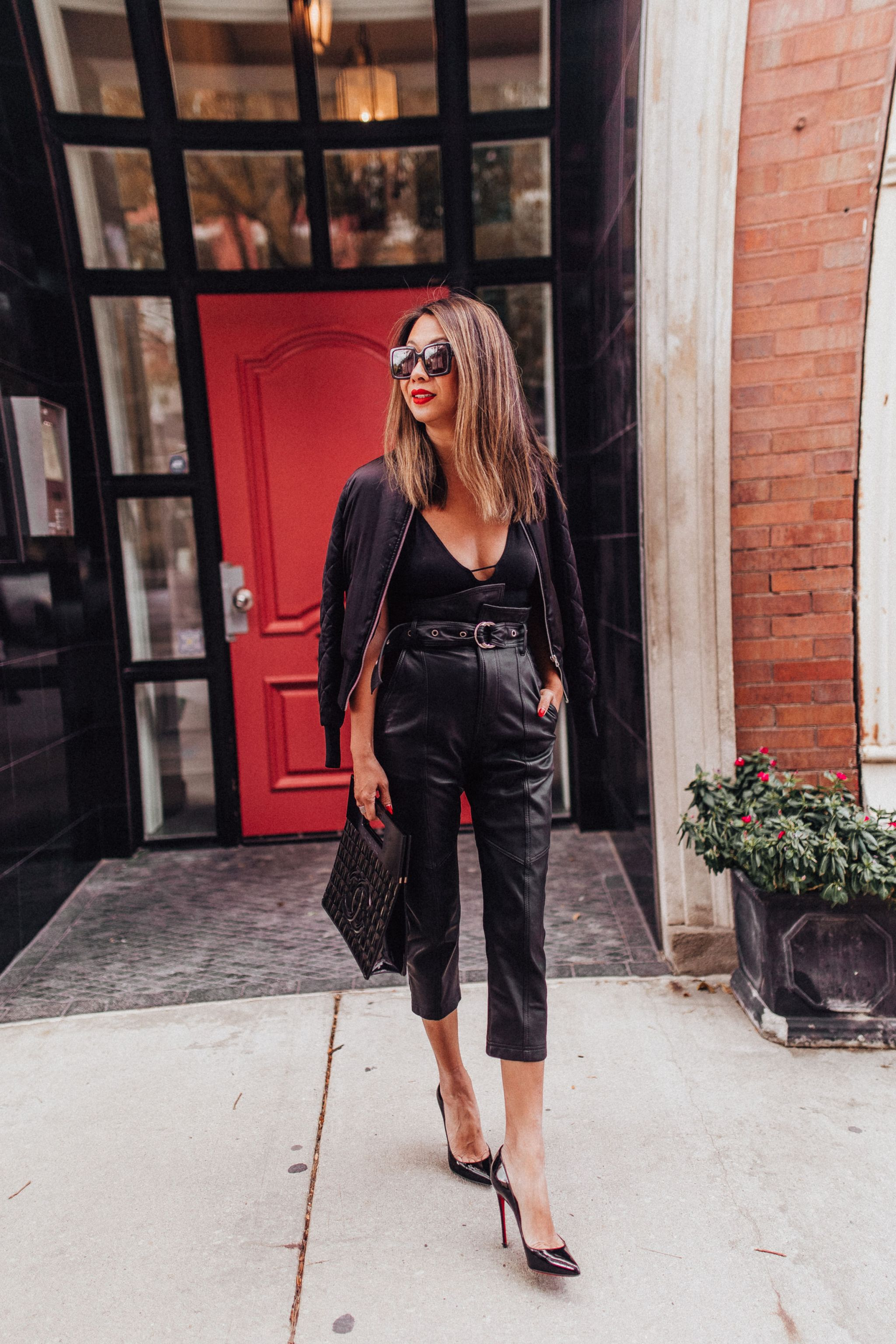 How to style leather pants, Marissa web leather pants, how to wear the leather pants trends, Jennifer Worman, Perfect leather pants for Fall, 3 items you need for Fall