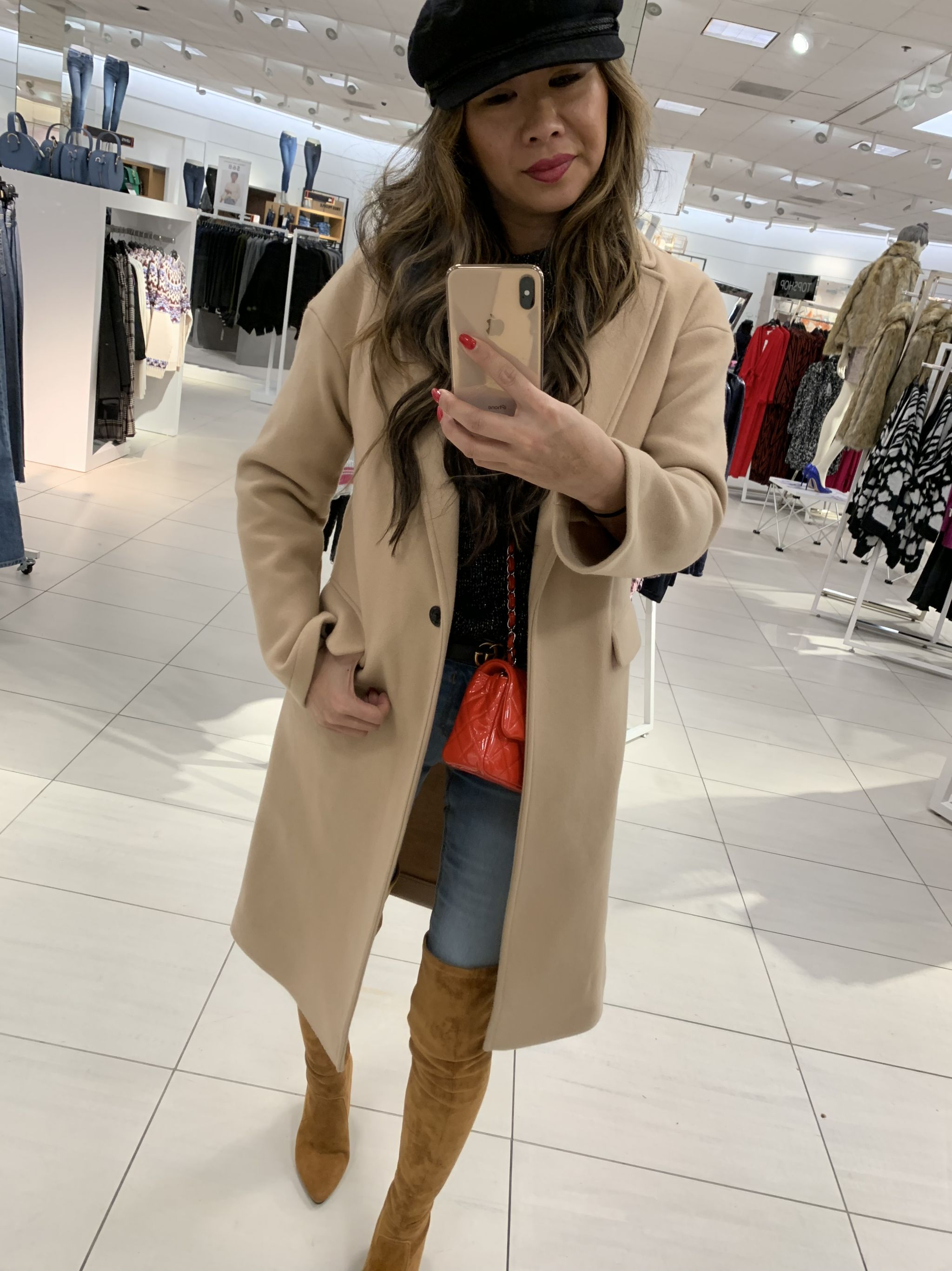 Topshop camel coat, nordstrom camel coat, best coat for winter, nordstrom coats, jennifer worman,