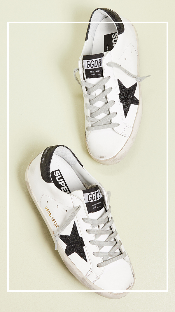 Jennifer worman, chicago blogger, golden goose sneakers, fabulous sneakers, stylish sneakers,