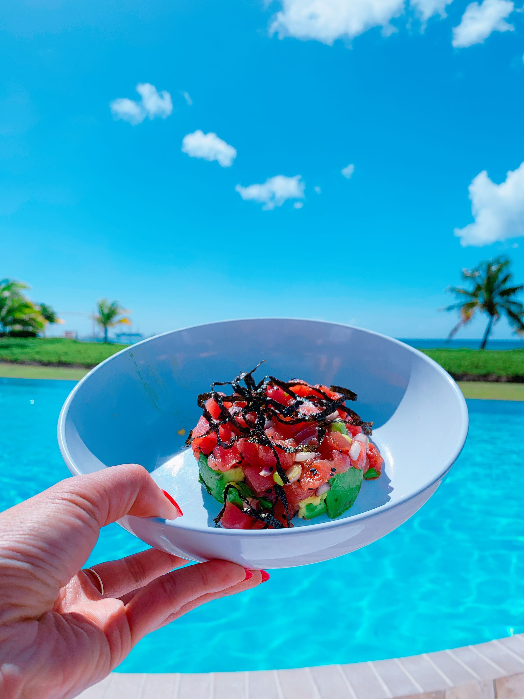 four seasons Nevis food, four seasons Nevis, Nevis travel guide, four seasons hotel, Jennifer Worman, chicago travel blogger, travel diary, trip to Nevis review, carribean vacation, dream vacation, girls trip, vacation style, carribean style, spring break destination