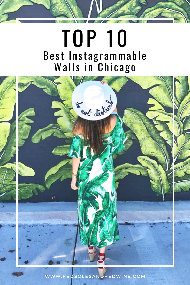 best places to take photos in chicago, chicago photography guide, best places for photography in chicago, chicago guide, chicago blogger, Jennifer Worman, instagrammable walls in chicago, the best places to take instagram photos in Chicago, wall art chicago