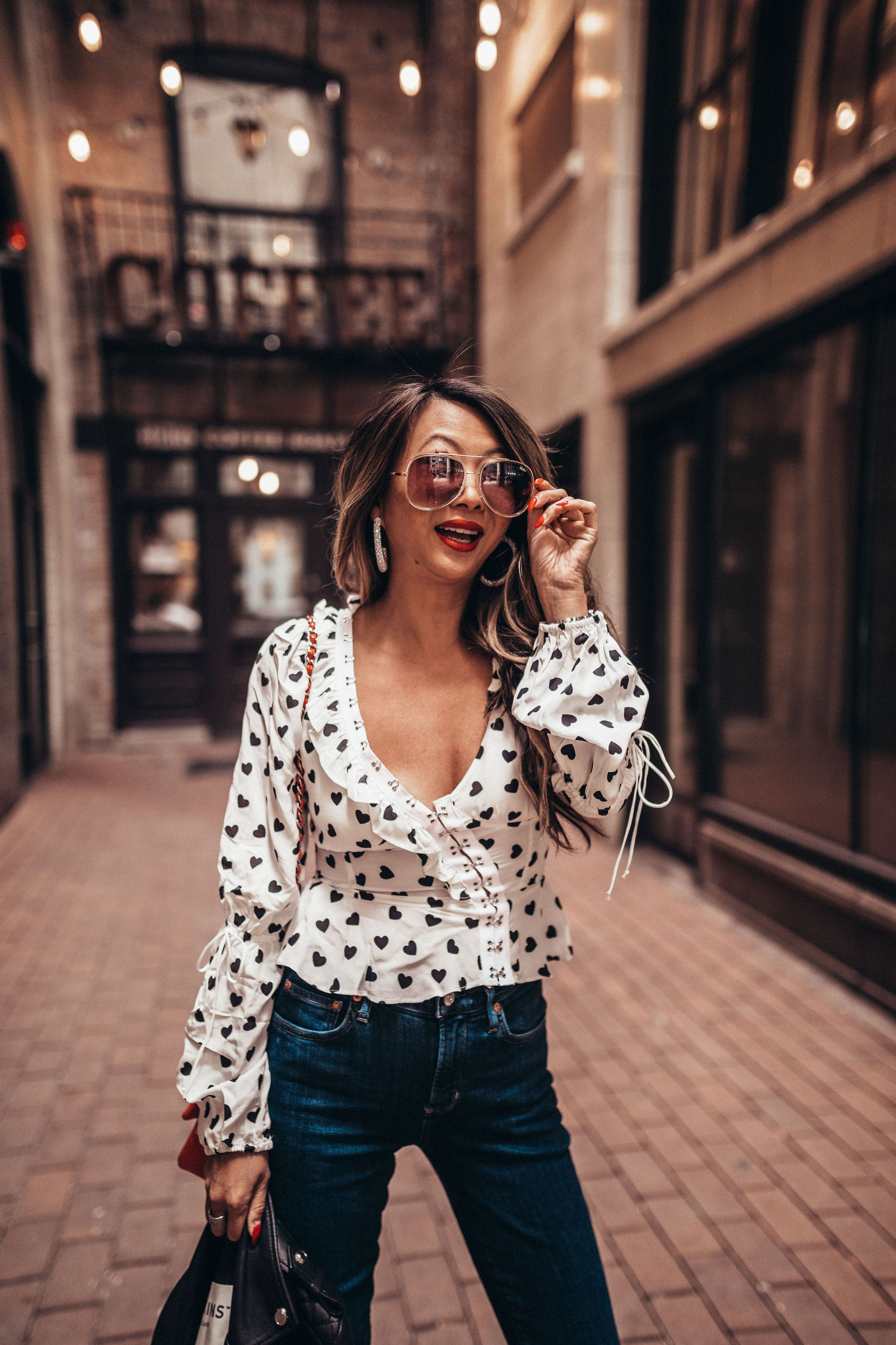 spring essentials from shopbop, for love and lemons top, for love and lemons willow top, outfit ideas, spring outfits, fashion blogger, street style, spring style, Jennifer Worman