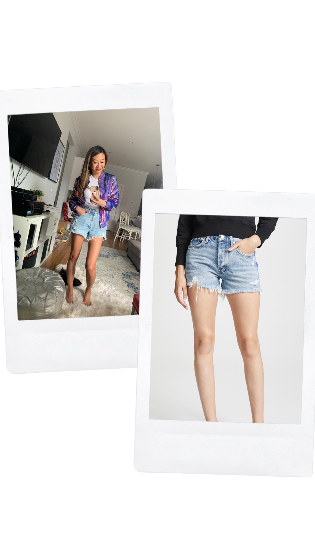agolde denim shorts, Shopbop sale, best denim shorts, denim cut offs, fashion blogger, spring style, denim shorts outfits