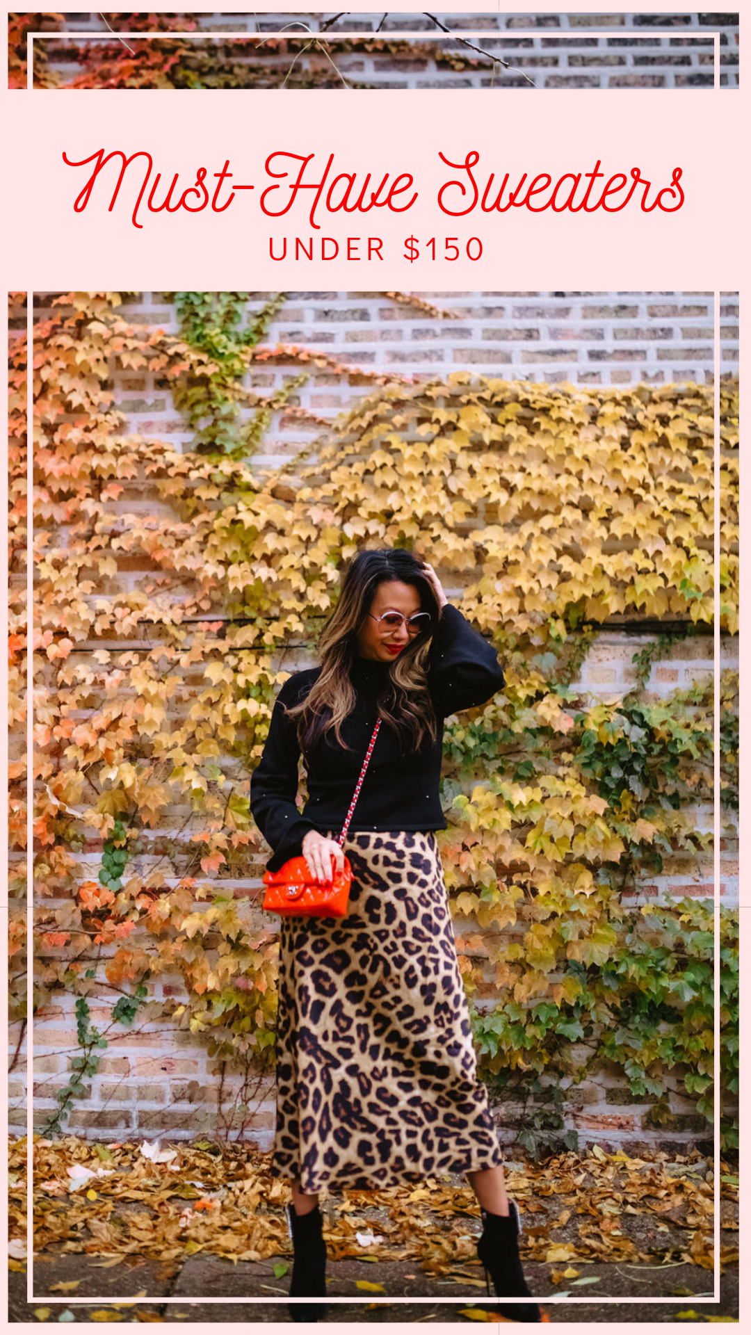 NBD Jeff Sweater, Jennifer Worman, Red Soles and Red Wine, revolve finds under $100, sweaters from revolve all under $100, Fall styles, fall outfit ideas, sweaters under $100, best sweaters under $100, 9 must-have swearters under $100, revolve babe, fall 2019 must haves, fall 2019 style, mom style, chicago blogger