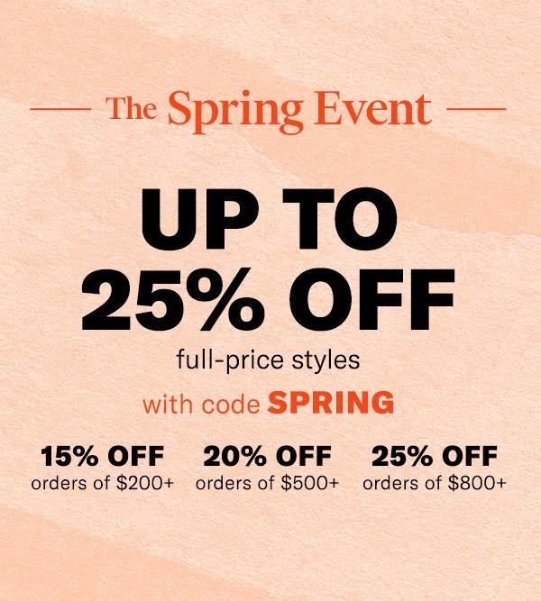 shopbop spring event 2020