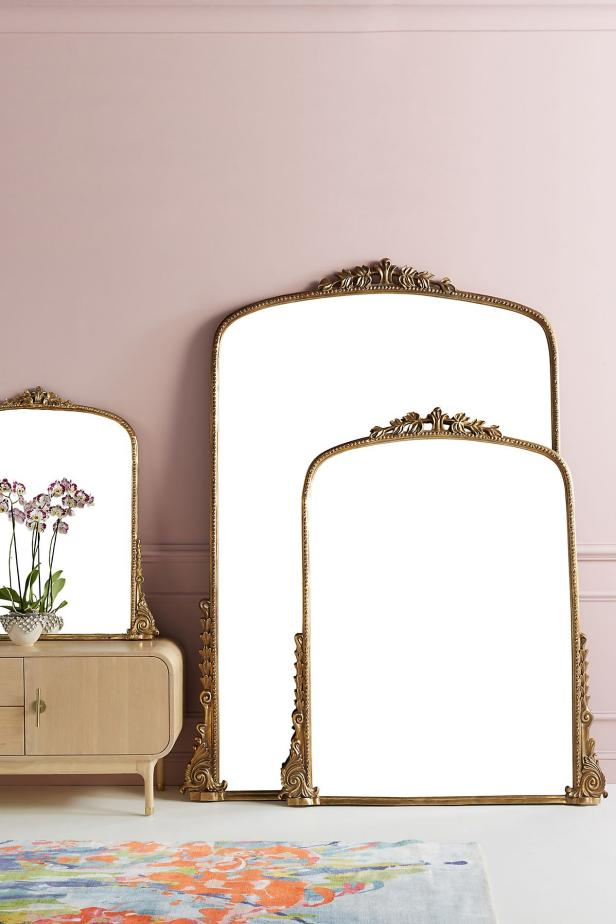 Anthropologie Gleaming Primrose Mirror, Anthropologie Gleaming Primrose Mirror dupes, affordable dupes for the Gleaming Primrose Mirror, gold mirror home ideas, gold mirror home decor, gold mirror home styling, gold mirror home inspiration, interior, home decor, home interior, interior styling, anthropologie dupes, glam home style, glam home inspiration, Jennifer Worman, Red Soles and Red Wine