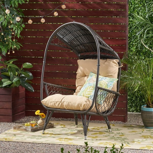 Target Southport Patio Egg Chair,Target Southport Patio Egg Chair dupes, affordable dupes for theTarget Southport Patio Egg Chair, egg chair inspiration, egg chair home ideas, egg chairs, wicker egg chairs, hanging egg chairs,interior, home decor, home interior, interior styling, target dupes, patiofurniture, patio furnitureinspiration,Jennifer Worman, Red Soles and Red Wine, Overstock Malia Outdoor Standing Wicker Basket Chair