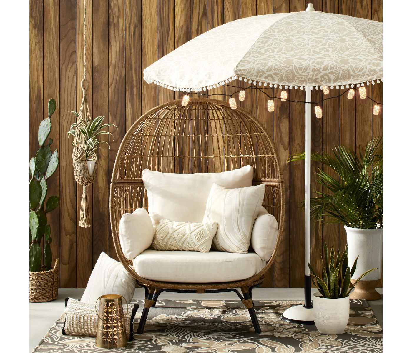 Target Southport Patio Egg Chair, Target Southport Patio Egg Chair dupes, affordable dupes for the Target Southport Patio Egg Chair, egg chair inspiration, egg chair home ideas, egg chairs, wicker egg chairs, hanging egg chairs, interior, home decor, home interior, interior styling, target dupes, patio furniture, patio furniture inspiration, Jennifer Worman, Red Soles and Red Wine