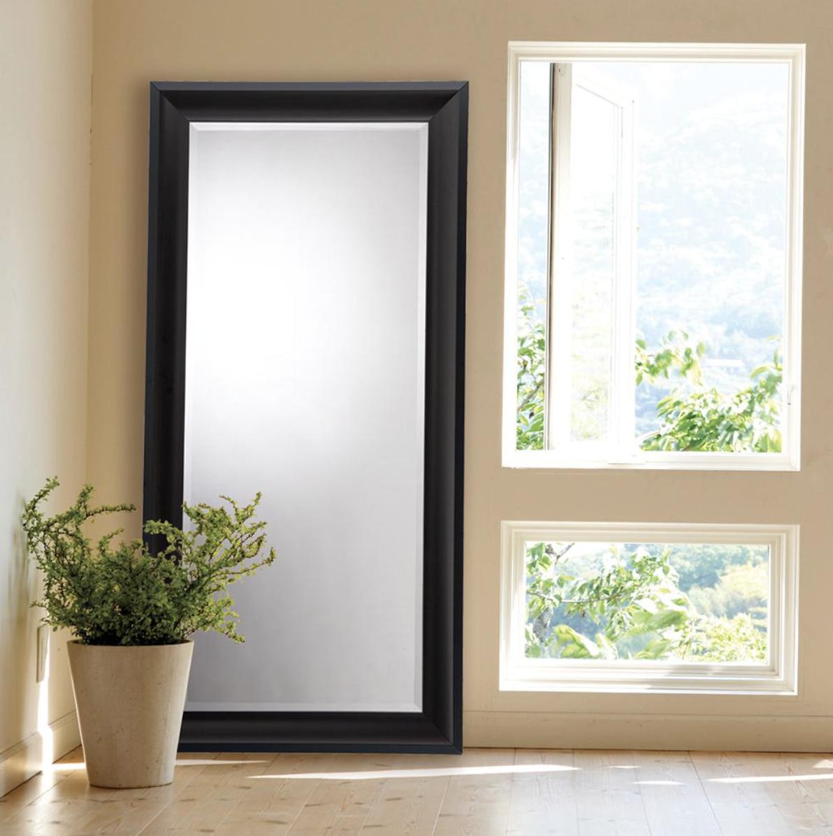 black full length mirror inspiration