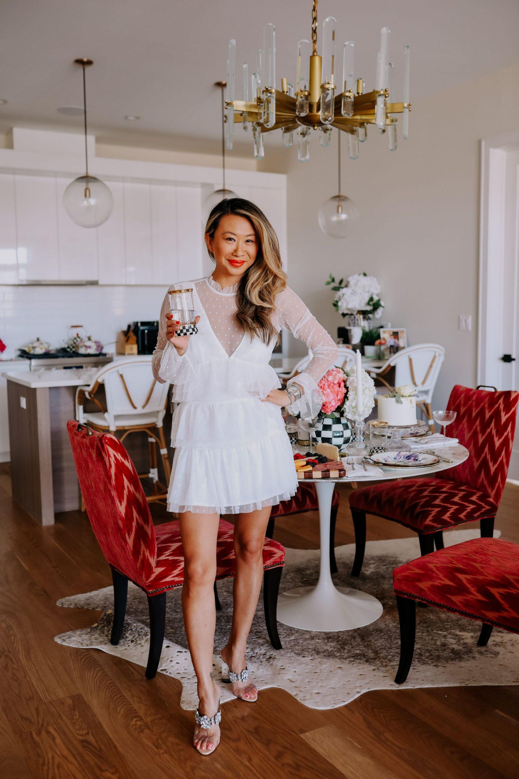 Tango Highball Glass Mackenzie-Childs - stylish and glam glassware