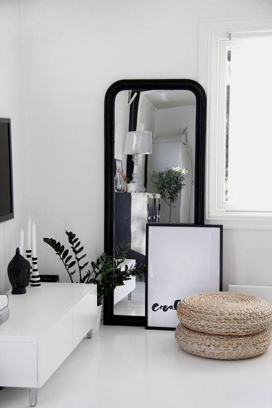 full length mirror home styling inspiration