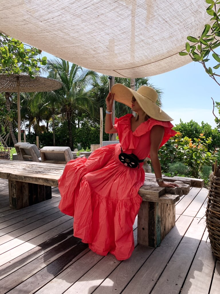30 Dresses under $100, must have dresses for Summer, Dresses for a steal, pretty dresses for Summer events, Jennifer Worman, Red Soles and Red Wine, H&M Ruffle Dress