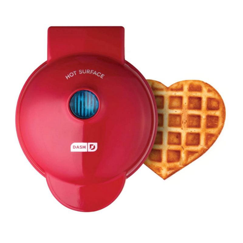 mini heart waffle maker, must have kitchen tools, kitchen items I can't live without, kitchen tools I use daily, most used kitchen items, gift ideas for someone who loves to cook, home items, home gift ideas, kitchen gift ideas, gifts for the hostess, Red Soles and Red Wine, Jennifer Worman