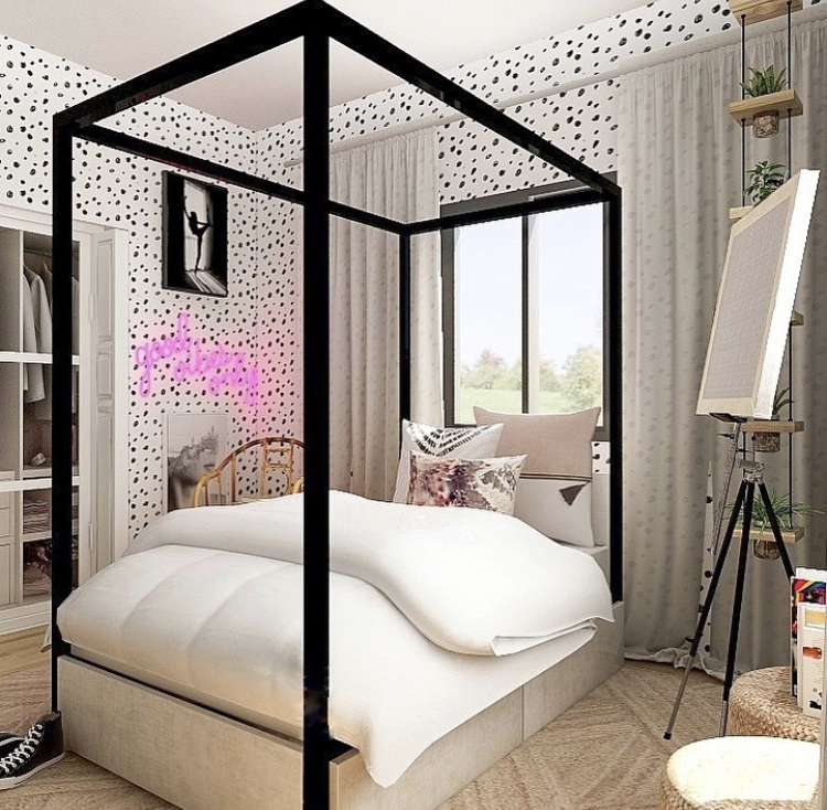 glam canopy bed frames, black canopy bedroom ideas, black canopy bed frame bedroom ideas, black canopy bedroom ideas bed frames, glam canopy bed frame inspiration, iron canopy bedroom ideas, black canopy bedroom ideas, iron canopy bed frame inspiration, girly bedroom style inspiration, glam bedroom inspiration, luxe bedroom style, luxe bedroom ideas, stylish bedroom ideas, metal canopy bedroom ideas
