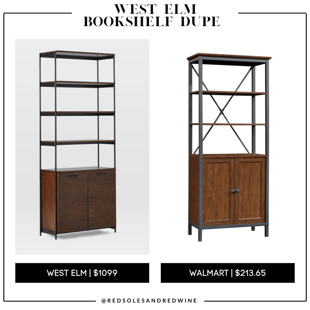 West Elm Foundry Bookcase dupe