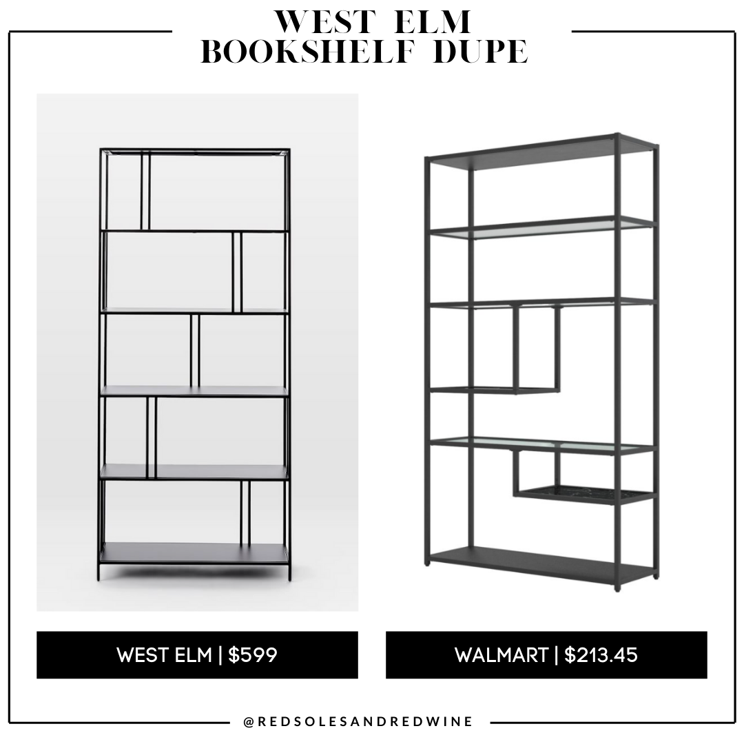 West Elm Profile Bookcase dupe