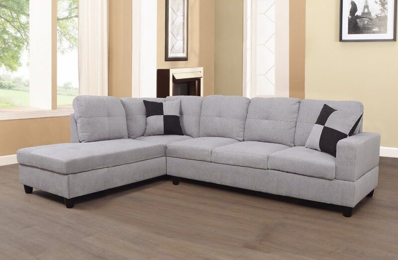 """Palladino 103.5"""" Wide Corner Sectional, corner sectional sofa, corner couch ideas, Best Sectionals Under $1000, sectional couch, sectional sofa under $1000, affordable sectional sofa, sectional sofa dupes, restoration hardware sectional sofa dupes, restoration hardware dupes, crate and barrel dupes, affordablecouches, livingroom furniture, affordable living room, family couch, family sectional, affordable family sectional sofa, interior design, living room design, Red Soles and Red Wine"""