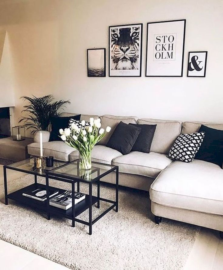 modern sectional, modern living room design, interior design, living room design, sectional sofa styling, sectional couch inspiration, Red Soles and Red Wine