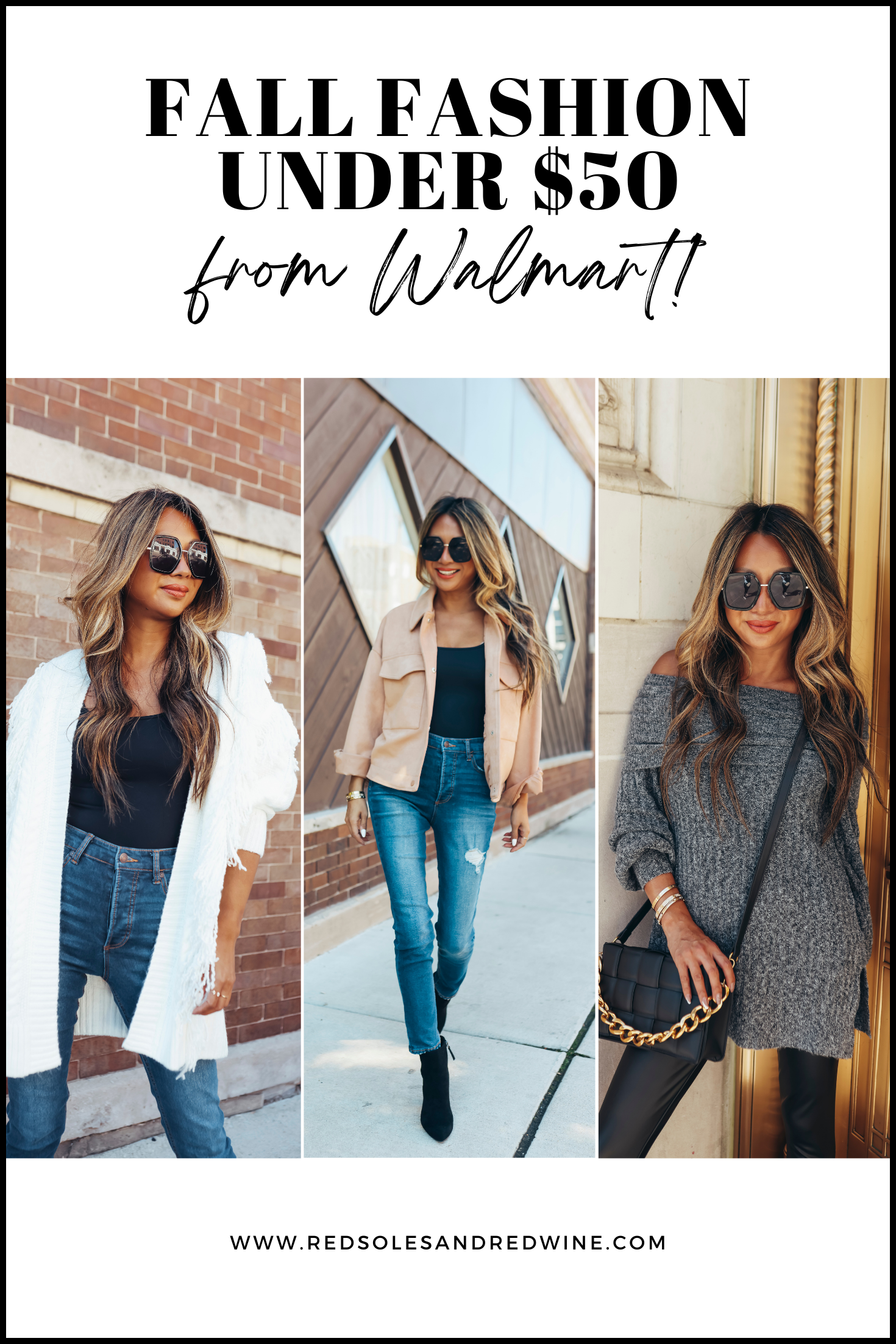 Fall Fashion under $50 from Walmart, Fall Fashion under $50 from Walmart, fall outfit inspiration, fall outift ideas, affordable fall fashion, affordable fall outfits, affordable fall style, fall outfit infpo, fall women's outfits, cold weather style, cute sweaters outfit inspo, cute sweaters, off shoulder sweaters, shackets, affordable shackets, affordable booties